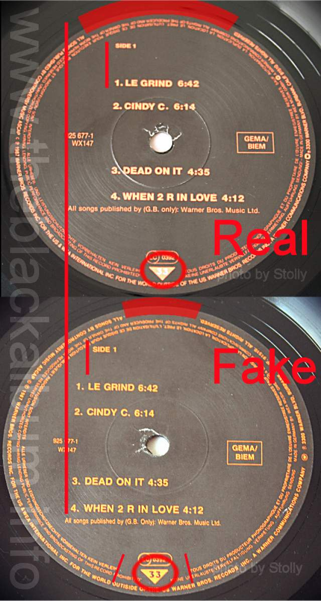 The Black Album info - FAKES